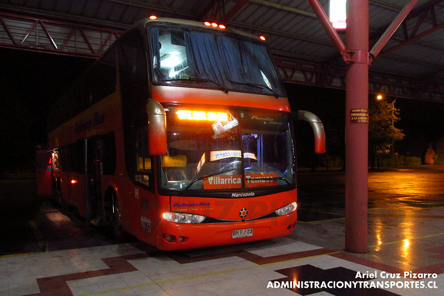 Pullman Bus - Temuco - Marcopolo Paradiso 1800 DD / Scania (BHFJ23)