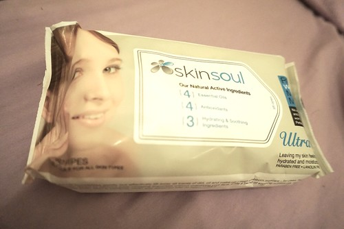 Skinsoul ultra-soft facial towelettes rm53