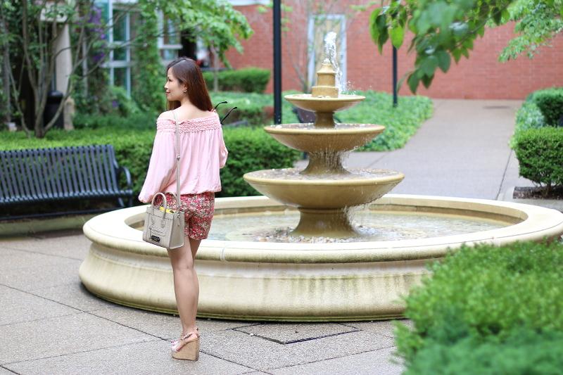 PInk-off-shoulder-top-floral-shorts-11