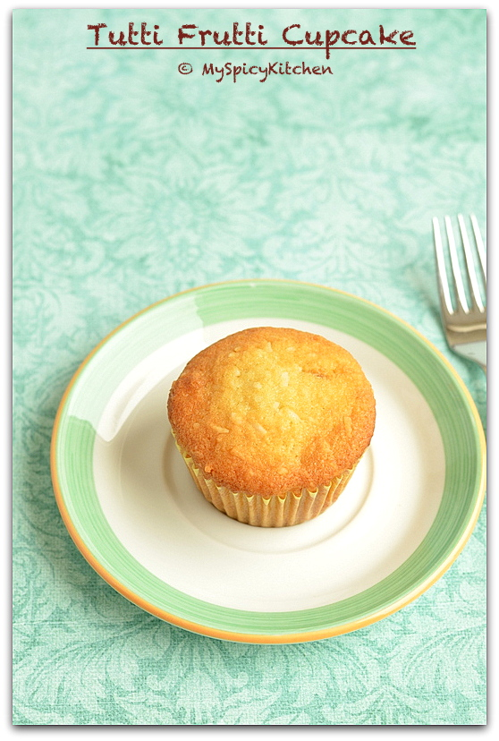 Tutti Frutti Cupcake, Bake-a-thon, Cupcake,