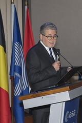ESA Director Eric Morel de Westgaver