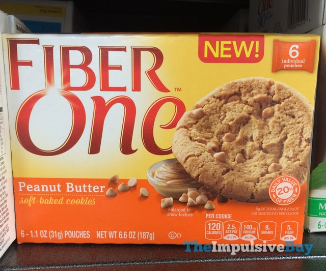 Fiber One Peanut Butter Soft Baked Cookies