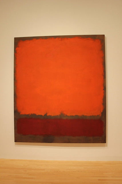 Mark Rothko, Orange, Red and Red, Dallas Museum of Art