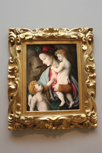 Francesco Ubertini, Madonna and Child with St. John the Baptist, Dallas Museum of Art