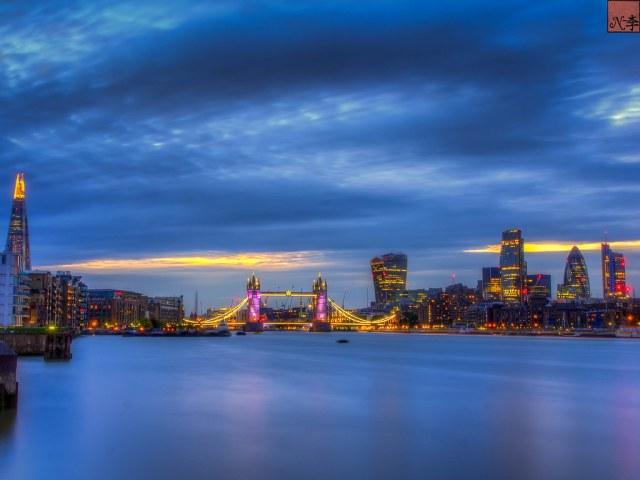 Tower Bridge View from Bermondsey, London (2 of 1)