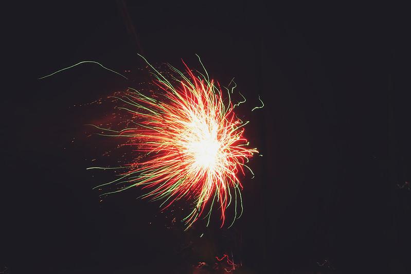 Poole Quay Fireworks Night