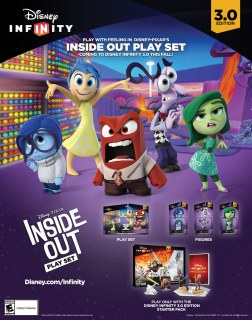 Disney Infinity 3.0 Edition | INSIDE OUT Poster
