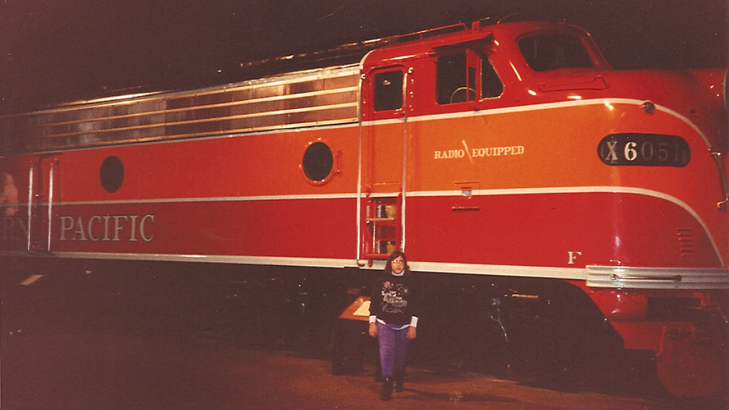 Southern Pacific 6051 Diesel Train