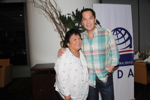 Chefs Sandy Daza & Myrna Segismundo
