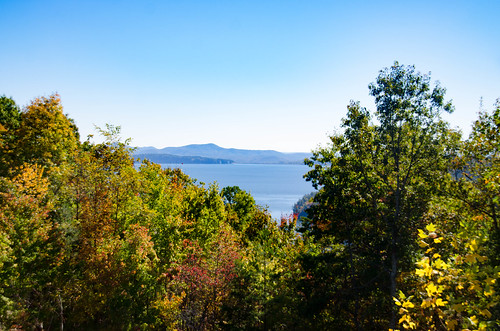 Lake Jocassee from Bad Creek Overlook