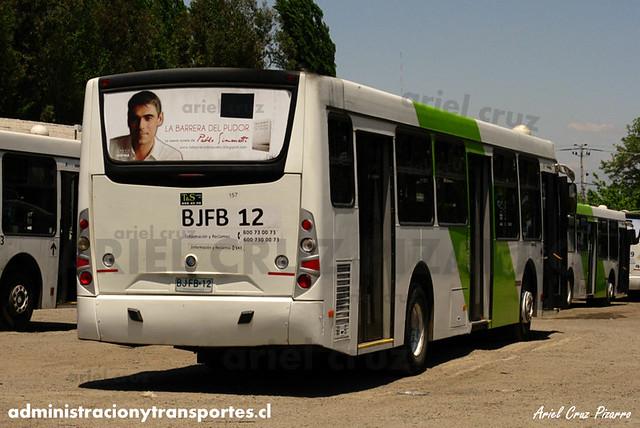 Transantiago - Metbus / Buses Metropolitana - Caio Mondego H / Mercedes Benz (BJFB12)
