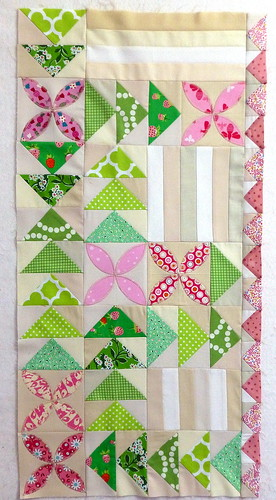 Brit Bee Block R4 for Sarah, designed by Jo