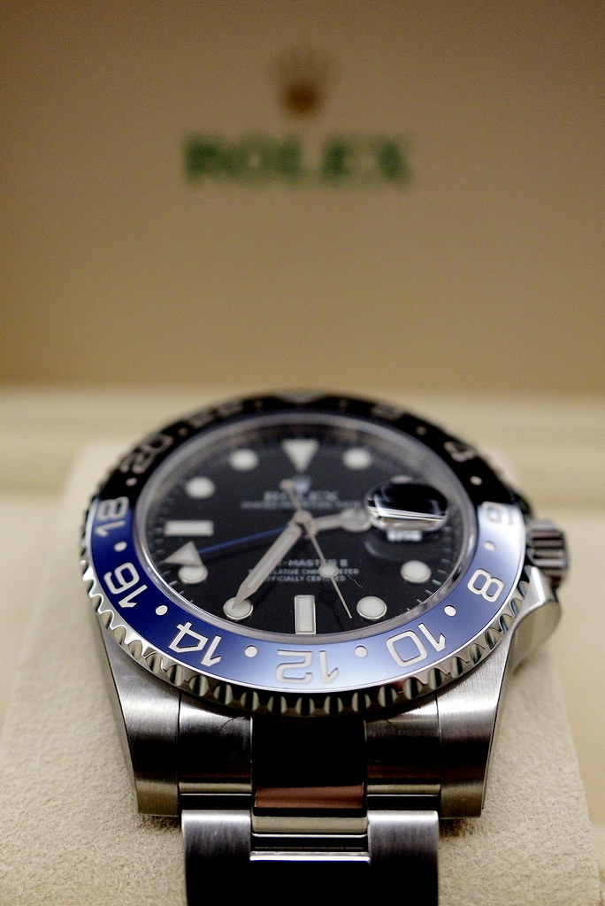 M.Y. Blogger: 【開箱】ROLEX GMT MASTER II 116710 BLNR
