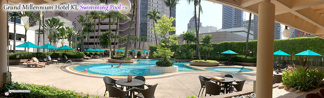 Grand Millennium KL Swimming Pool Panorama
