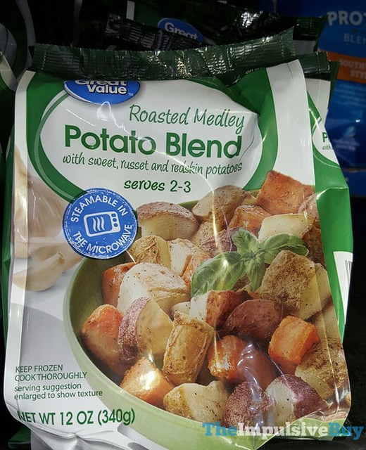 Great Value Roasted Medley Potato Blend