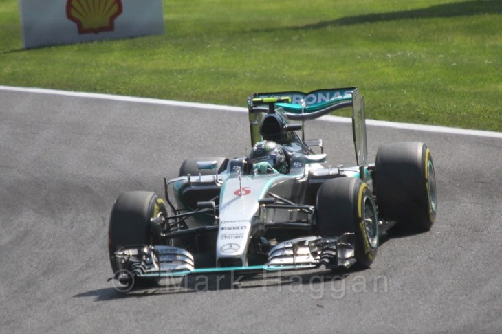 Qualifying for the 2015 Belgium Grand Prix