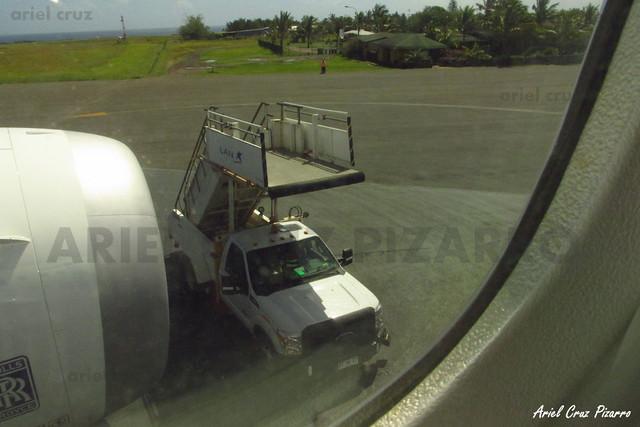 Escalera de Embarque - IPC (Mataveri / Isla de Pascua)