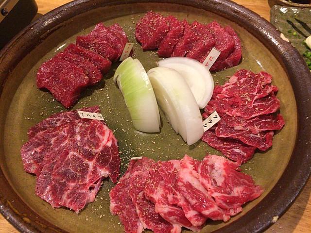 馬肉の焼き肉