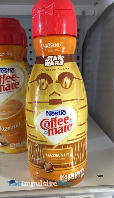 Nestle Coffee-mate C-3PO Star Wars Limited Edition Pack Hazelnut Creamer