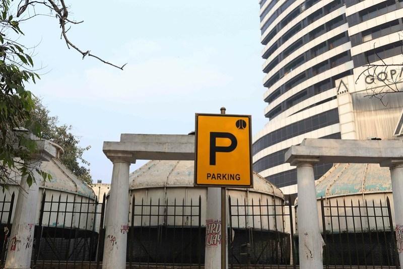 City Monument - 12 Pillars, Barakhamba Road