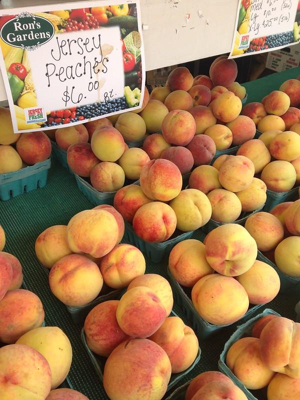 Jersey peaches