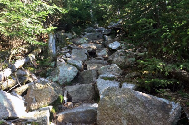 Mt Hancock Steep Climb