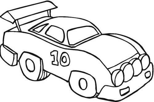 toy cars coloring pages - photo#35