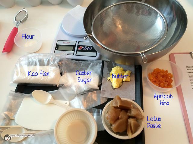 1872 Clipper Tea Mooncake Ingredients