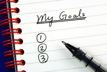 A list of my goals...yeah.