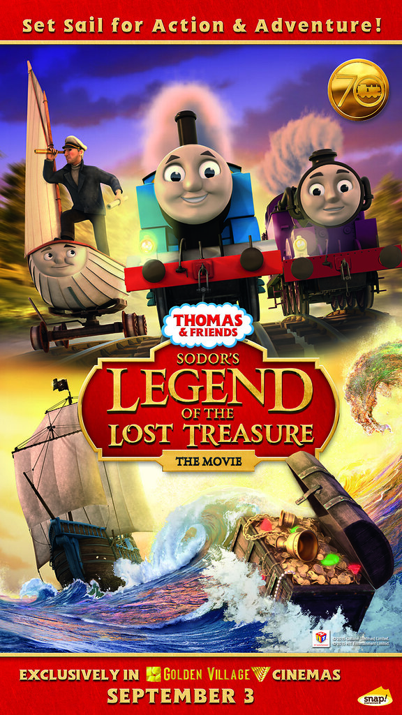 Catch the latest Thomas & Friends movie exclusively at GV cinemas now!