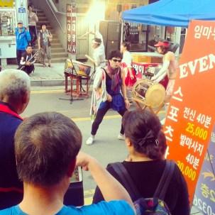 Korean Person Dancing