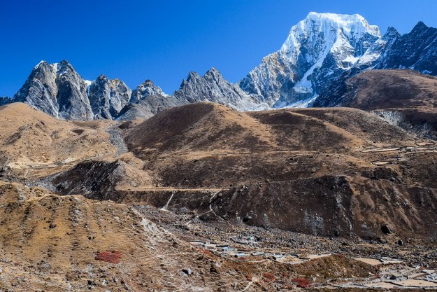 Mighty landscape. Gokyo