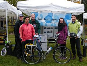 2015 17 Manitou Community Picnic BikeBrampton Booth_300