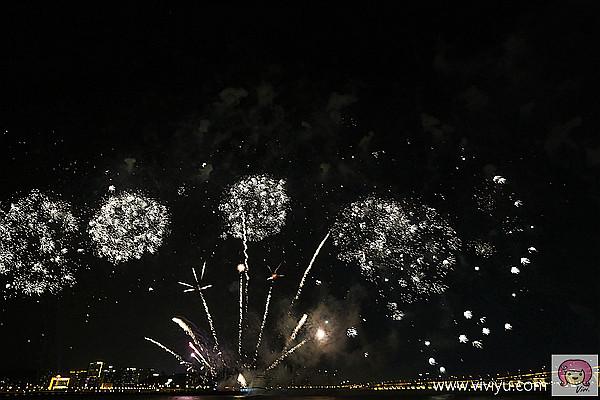 台灣永豐煙火,澳門,澳門旅遊塔,澳門煙火,澳門花火匯演 @VIVIYU小世界