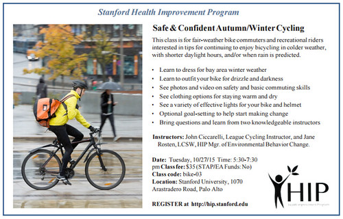 HIP - winter cycling class