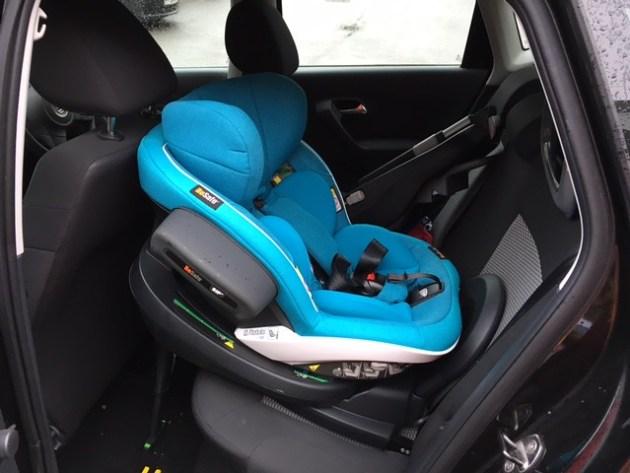 Besafe Modular in a VW Polo 2013