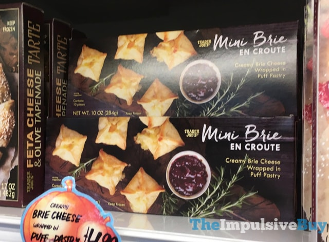 Trader Joe's Mini Brie En Croute