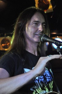 Damon Johnson live at the Diamond Rock Club, September 2015