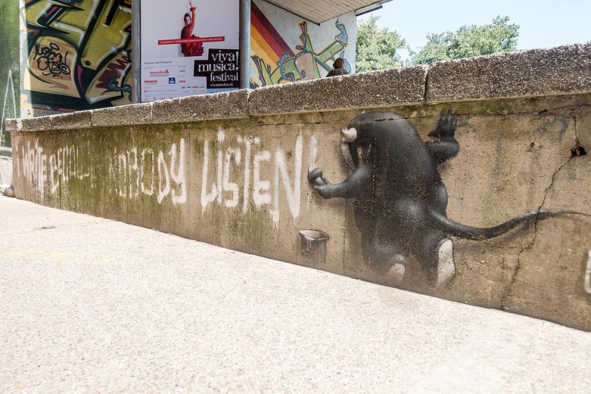 Street Art Bratislava Slovakia