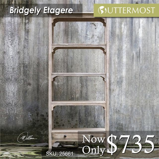 25661 -- Bridgely Etagere $735