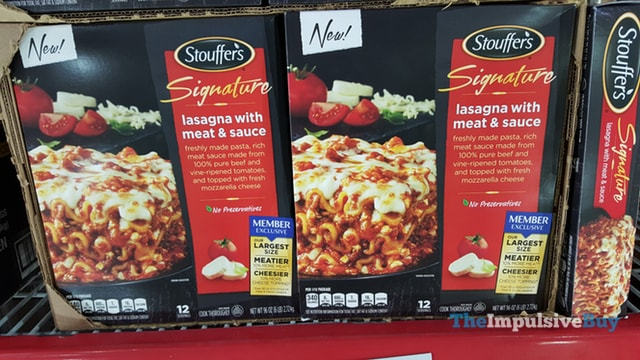 Stouffer's Signature Lasagna with Meat & Sauce