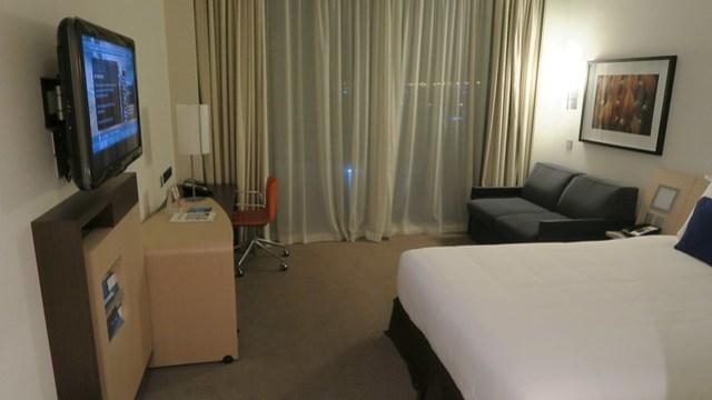 novotel al bustan abu dhabi hotel room