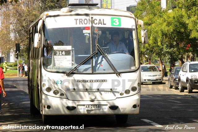 Transantiago - Buses Gran Santiago - Neobus Spectrum / Mercedes Benz (XA2416)