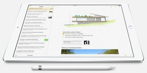 ใช้ Apple Pencil คู่กับแอปต่างๆ ได้ เช่น Note, Mail หรือแม้แต่ Microsoft Office Mobile