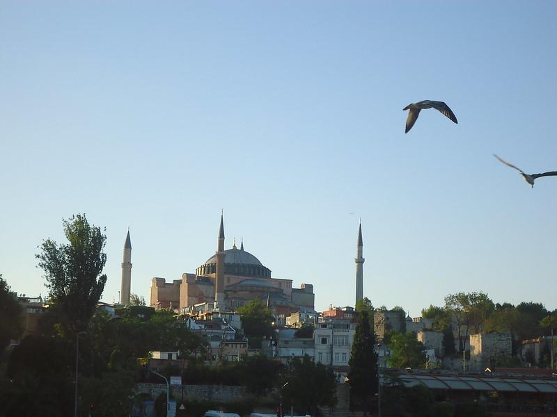 Santa Sofía, Ruta por Turquía