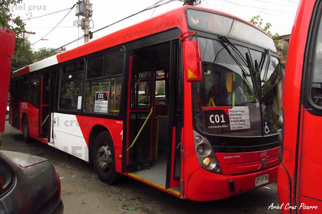 Transantiago - Redbus Urbano - Neobus Mega LE / Volvo (CPFP30) (312)