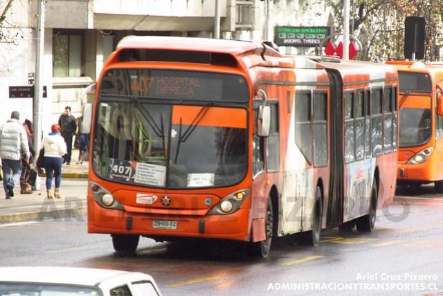 Transantiago - Express de Santiago Uno - Marcopolo Gran Viale / Volvo (ZN6032)