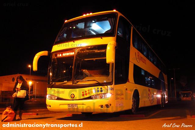 Romani | La Serena | Marcopolo Paradiso 1800 DD - Scania (CGKX51) (820)