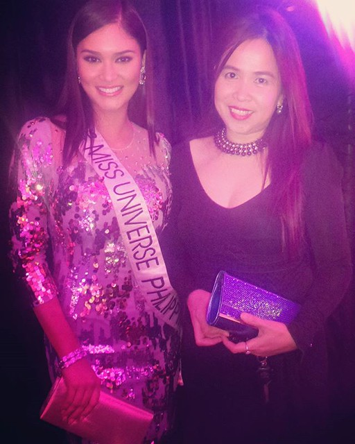 with Pia Wurtzbach