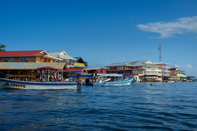 Bocas del Toro water taxis